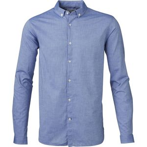 Light Oxford W/ Contrast Dot Fabric - Regatta - KnowledgeCotton Apparel