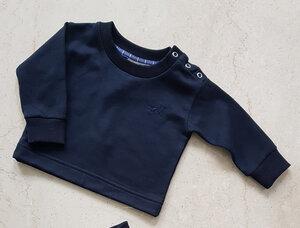 soki Tencel Baby Shirt in navy - Unisex - soki