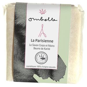 Ombelle Naturseife La Parisienne 100G mit Fair Trade Bio-Sheabutter, kaltgesiedet - Ombelle