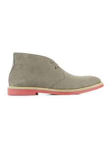 Desert Boots Taupe - Wills Vegan Shoes