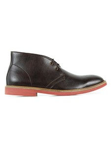 Desert Boots Dark Brown - WILLS LONDON