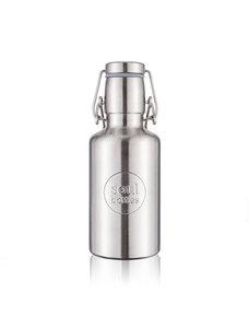 soulbottle steel light • einwandige Trinkflasche aus Edelstahl - soulbottles