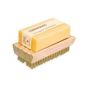 Redecker multifunktionale Nagelbürste mit Seifenablage fürs Bad - Redecker - das Bürstenhaus