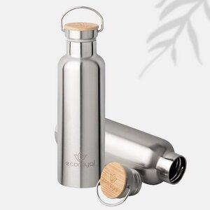 Ecoroyal Trinkflasche Edelstahl 750ml - auslaufsicher - Ecoroyal