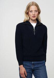 Damen Strickpullover aus Baumwolle (Bio) | Troyer MAGNOLIA - recolution