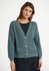 Damen Strickcardigan aus weicher Bio-Baumwolle | Cardigan AZARA - recolution