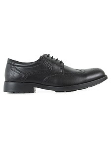 Smart Comfort Brogues Black - WILLS LONDON