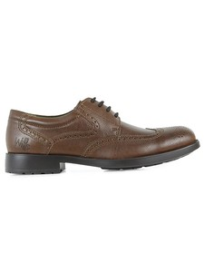 Smart Comfort Brogues Chestnut - WILLS LONDON