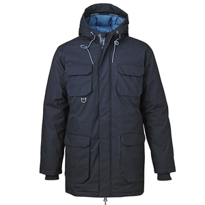 Heavy Parka Jacket Total Eclipse - KnowledgeCotton Apparel