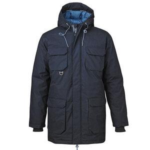 Heavy Parka Jacket Total Eclipse - KnowledgeCotton Apparel