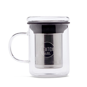 Glass Tea Mug - TEATOX