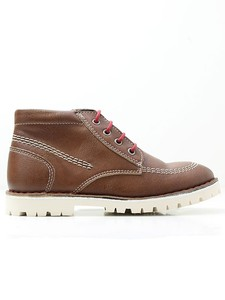 Low Boots Chestnut - WILLS LONDON