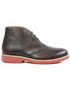 Women's Desert Boots Dark Brown - WILLS LONDON
