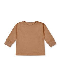 Shirt aus Biobaumwolle für Kinder / Basic Longsleeve - Matona