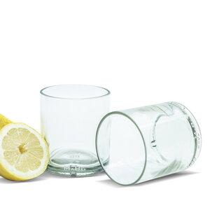 300ml Trinkglas aus der Spirituosenflasche - MaBe