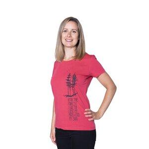 "Damen T- Shirt ""ELNaturesoul"" - ecolodge fashion"