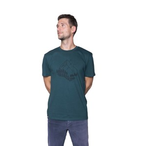 """Herren T- Shirt """"ELWoodshed"""" - ecolodge fashion"""