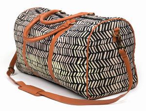 """Reisetasche """"Felicia"""" aus 100% Baumwolle mit Kunstledergriffen - El Puente"""