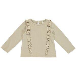 Langarmshirt Sophia Cream - Bio-Baumwolle - Jersey - Peter Jo Kids