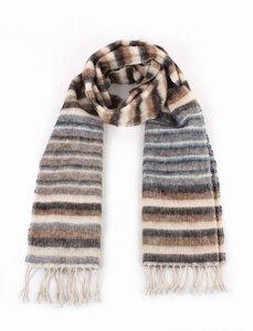 Schal, handgewebt aus 50% Yak-Wolle und 50% Baumwolle, verschiedene Farben - El Puente