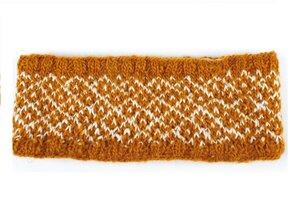 Stirnband aus 60% Wolle und 40% Viskose (Bananenfaser), Einheitsgröße - El Puente