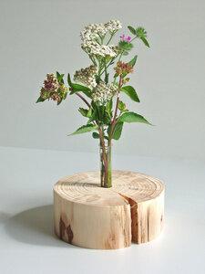Einzigartige, dekorative Holzvase - Natur-Pur - rund - geschliffen - Die Schreiner Christoph Siegel