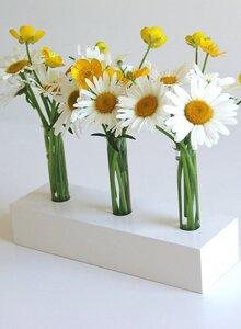 """Zeitlos-elegante, dekorative Holzvase """"White Spring"""" - Die Schreiner Christoph Siegel"""