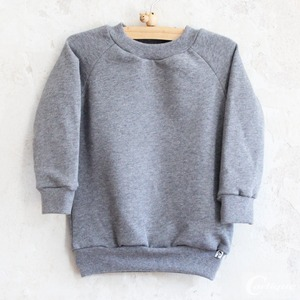 Sweat-Pullover 'basic grey' - Carlique