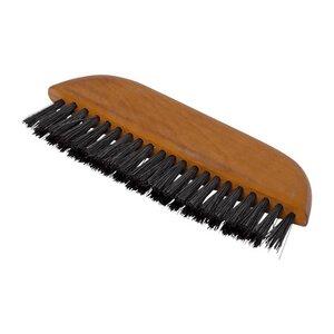 Redecker Kleiderbürste Holz schwarze Wildschweinborsten Birnbaumholz - Redecker - das Bürstenhaus
