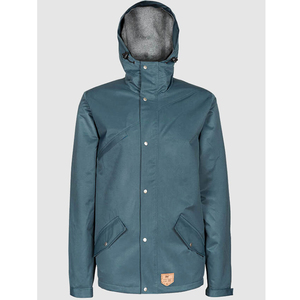 Functional Parka Blue - bleed