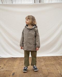 Gefütterte Jacke für Kinder / Jaro Waxed Cotton Jacket - Matona