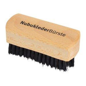 Redecker Schuhbürste für Nubukleder mit Wildschweinborsten Buchenholz - Redecker - das Bürstenhaus