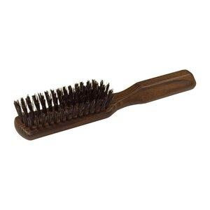 Redecker Haarbürste geöltes Thermoholz länglich Wildschweinborste - Redecker - das Bürstenhaus