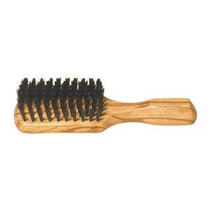 Redecker Herren-Haarbürste Kopfkardätsche gewachstes Olivenholz - Redecker - das Bürstenhaus