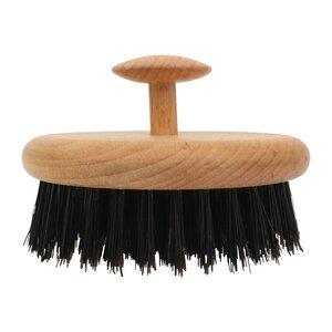 Redecker Haarbürste rund schwarze Wildschweinborste Buchenholz - Redecker - das Bürstenhaus