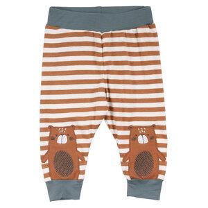 Baby stripe Leggings/ Pants *Bear* GOTS & Bio- Baumwolle   Freds World - Freds World