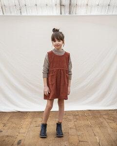 Kord Schürzenkleid für Kinder / Nora Pinafore Dress - Matona