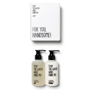 ALL NATURAL COSMETICS HAND KIT mit veganer Handseife und Handbalm - Stop The Water While Using Me!