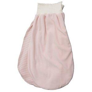 Strampelsack in Nicki rosa - iobioTM (PoPoLiNi®)