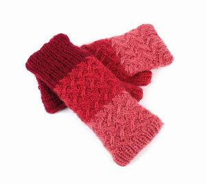 Damen-Vario-Handschuhe aus reiner Schurwolle mit Fleece-Futter,Einheitsgröße - El Puente