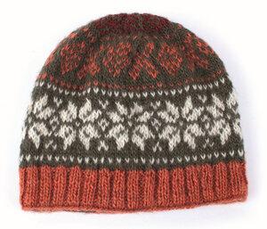 Herren-Mütze aus reiner Schurwolle mit Fleece-Futter, Einheitsgröße - El Puente