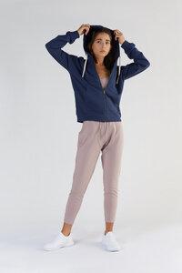 """Damen Zip-Hoodie Jacke aus Bio-Baumwolle """"True North"""" T1900 - True North"""