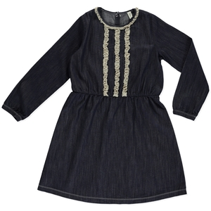 Kleid Madison Denim aus Bio-Denim - Peter Jo Kids