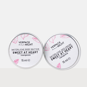 Sweet At Heart Lovers - Body Butter & Deo Creme Minis - verpackmeinnicht