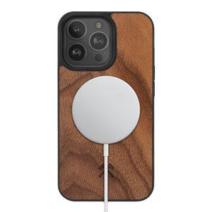 iPhone Hülle mit Magnet kompatibel mit MagSafe magnetisches Laden  - Woodcessories
