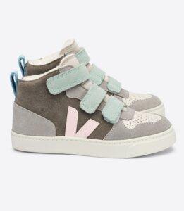 Sneaker Kinder - Small V-10 Mid Suede - Veja