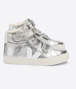 Sneaker Kinder - Small Esplar Mid Fur Suede - Veja