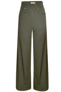 Marlene-Hose weit hoher Taille - SinWeaver alternative fashion
