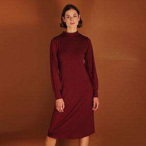 Tencel Turtleneck Kleid Noa in petrol oder berry - ManduTrap