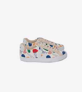 ESPLAR LOW CANVAS JAZZ WHITE - Veja